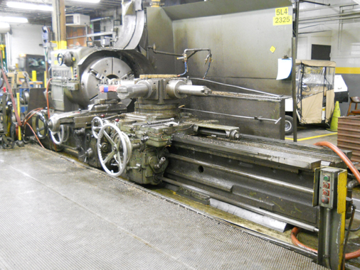Remanufactured Gisholt 5L - Before